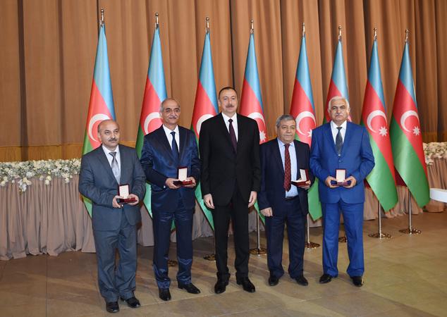 Coğrafiya İnstitutunun alimlərinə Dövlət Mükafatı təqdim edilib