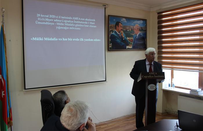 Elmi Şuranın növbəti iclası AMEA-nın 75 illiyinə həsr edilib