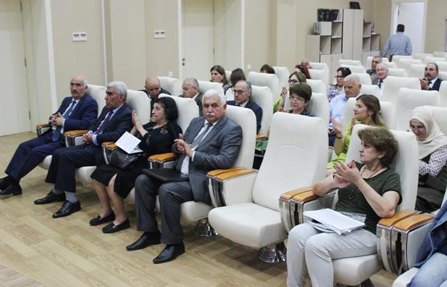 Azərbaycan Coğrafiya Cəmiyyətinin 80 illik yubileyi və X qurultayı keçirilib