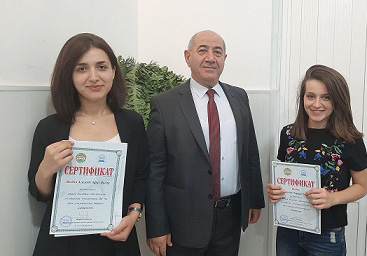 Young seismologists made a report in Tajikistan