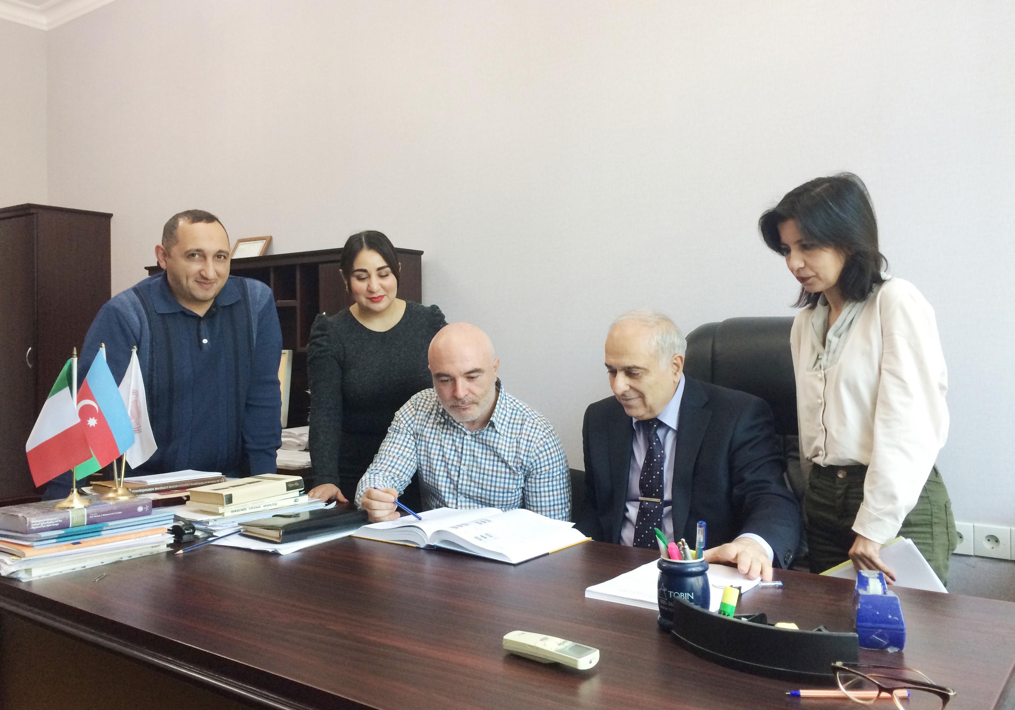 Azərbaycan və İtaliya alimləri birgə tədqiqatlar aparirlar