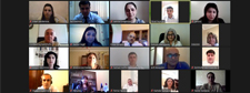 The next online meeting was held with the heads of the ANAS Education Departments