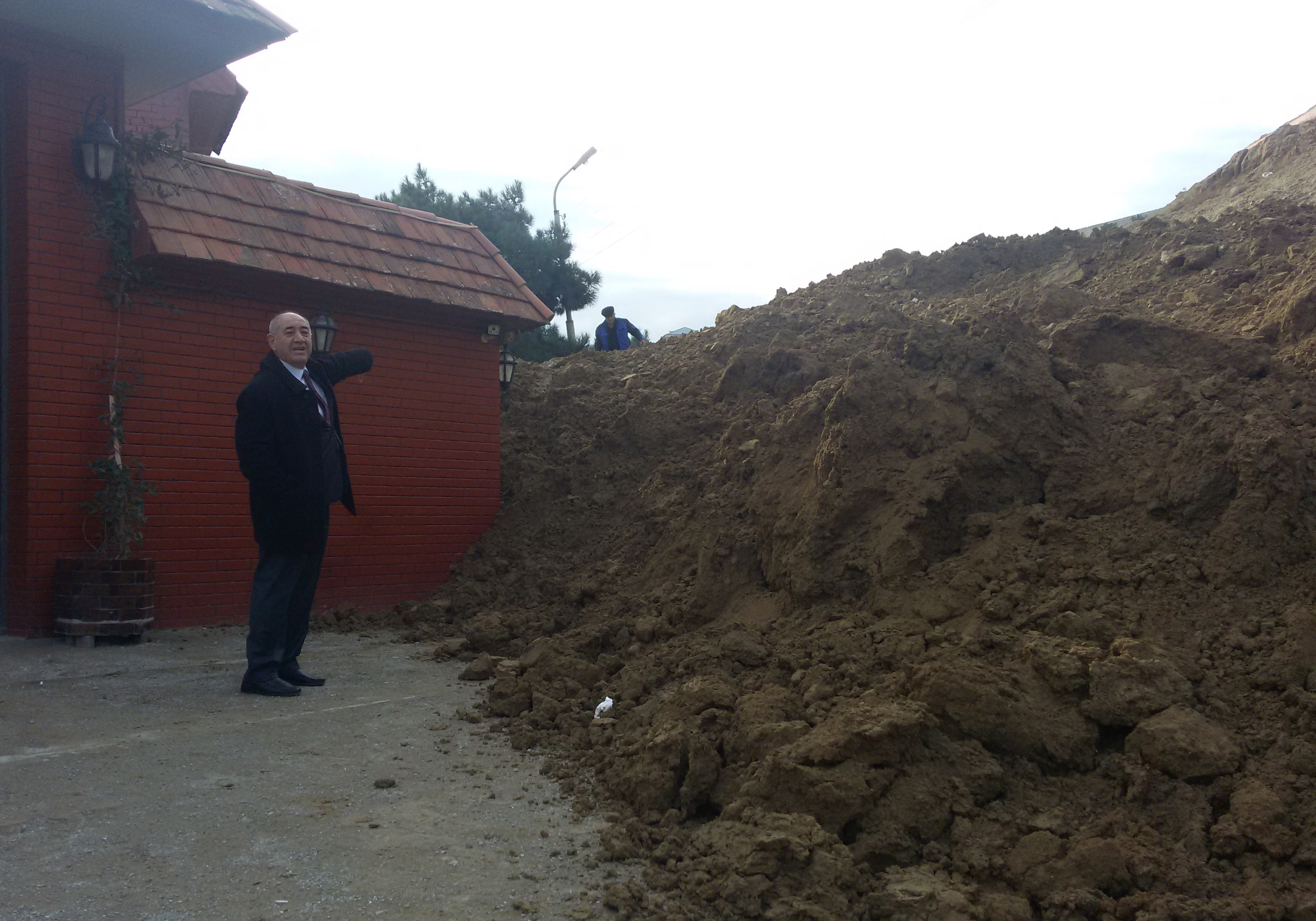 Under the direction of the general director of the RSSC, an inspection of the landslide zone in Badamdar was carried out