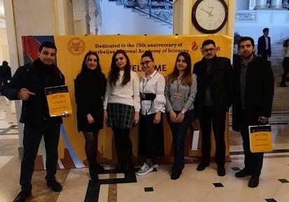Neft və Qaz İnstitutunun gənc əməkdaşları və magistrantları beynəlxalq elmi konfransda iştirak ediblər