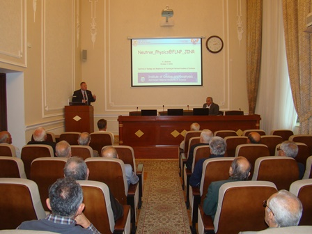 Russian scientist gave speech at IGG workshop