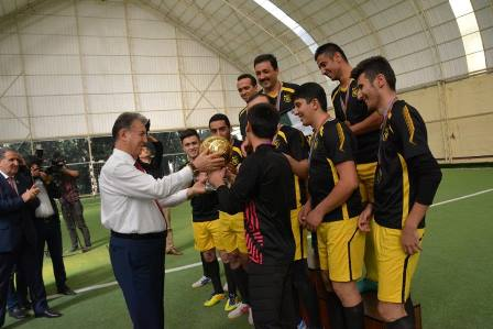 IGG Football team won ANAS Championship