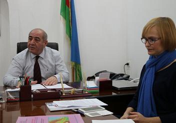 Представители Научно-Технологического Центра Украины посетили РЦСС