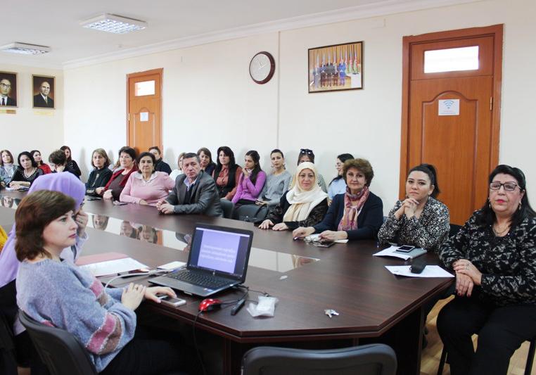Coğrafiyaçı qadın alimlərlə bağlı seminar keçirilib
