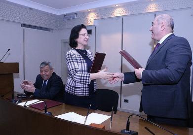 RSXM Memarlıq və İnşaat Universiteti ilə anlaşma memorandumu imzalayıb