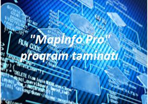 """Coğrafiya İnstitutu """"MAPINFO PRO"""" proqram vasitələri ilə təmin edilib"""