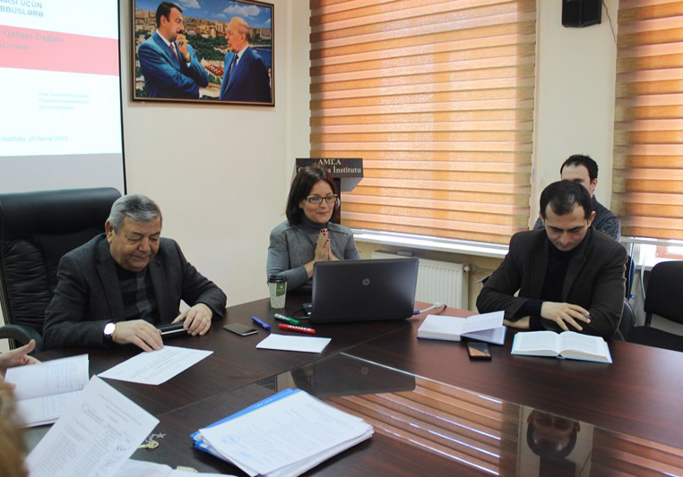 The Scientific council approved the candidacy of academician R. Mammadov