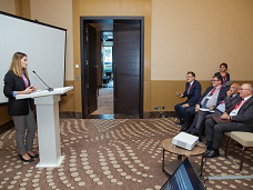 RSXM-in əməkdaşı beynəlxalq konfransda çıxış edib