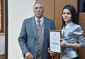 Science.gov.az portal awarded with the Honorary Decree of the Institute of Geology and Geophysics
