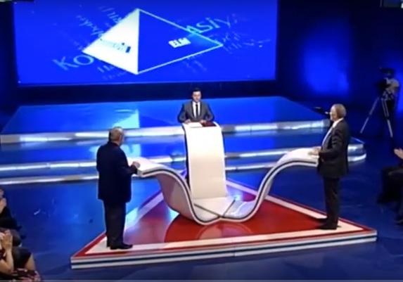 Azərbaycan Televiziyasında coğrafiyanın bir sıra məsələləri müzakirə olunub