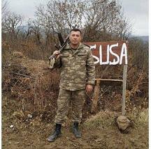 """RSXM-nin əməkdaşı """"Cəbrayılın azad olunmasına görə"""" medalı ilə təltif edilib"""
