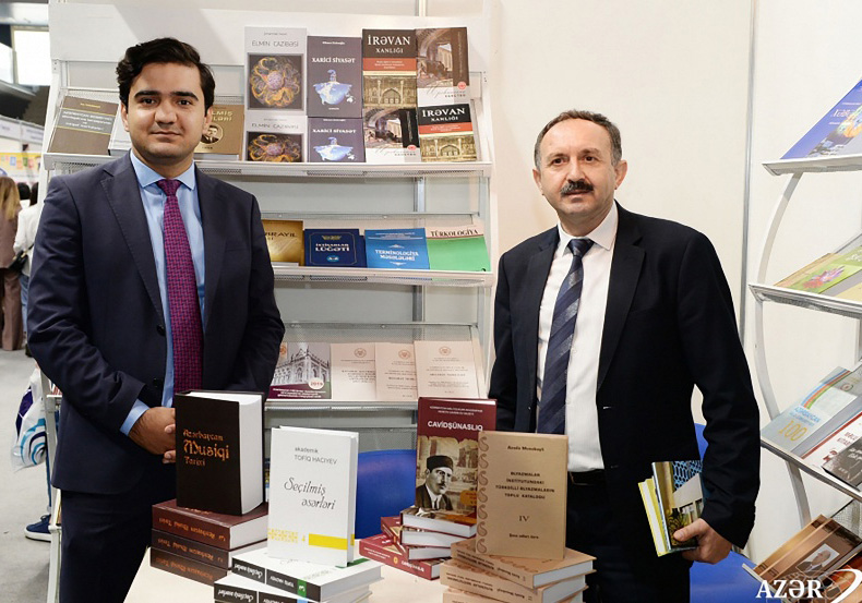 "Elm"" Publishing House attended in VI Baku International Book Fair"