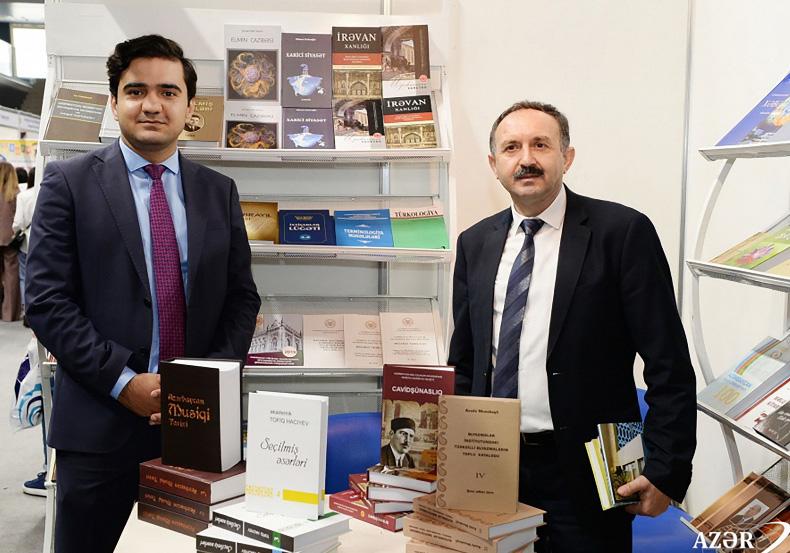 Издательство «Элм» успешно участвует в VI Бакинской международной книжной ярмарке