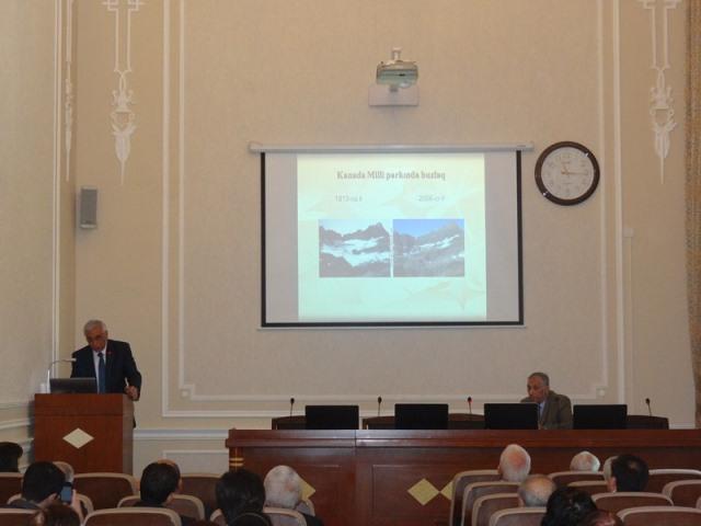 Qlobal iqlim dəyişmələrinə dair seminar keçirilib