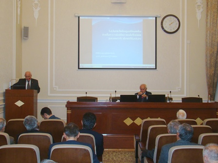 The Institute of Geology and Geophysics held scientific session devoted to the 90th anniversary of Academician Midhat Abbasov