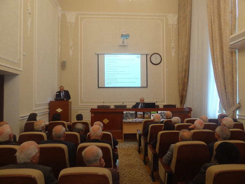 İnstitute of Geology and Geophysics held annual report meating