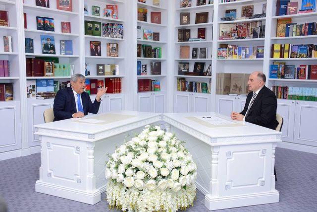 """Akademik Ramiz Məmmədov """"Elm və İnnovasiya"""" elmi-publisistik proqramının qonağı olub"""