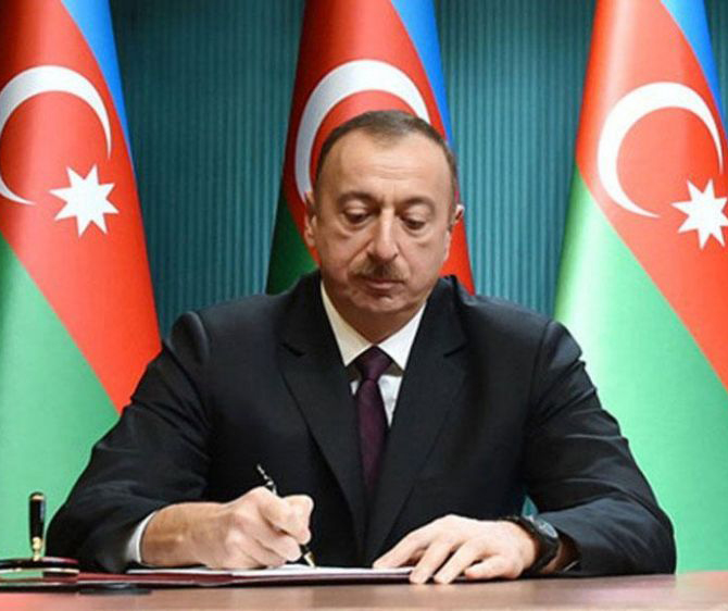 "Order of the President of the Republic of Azerbaijan on awarding A.A.Alizadeh the ""Labor Order"" the 1st degree"