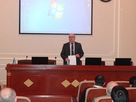 Azerbaijani and Italian scientists discussed the seismic dangers in our country