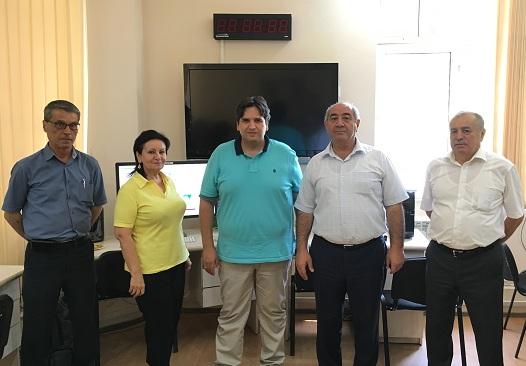 """""""Kinemetriks"""" şirkətinin əməkdaşı RSXM-də treninq keçib"""