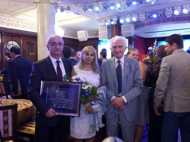 Азербайджанские ученые удостоены престижной российской Национальной премии «Хрустальный компас»
